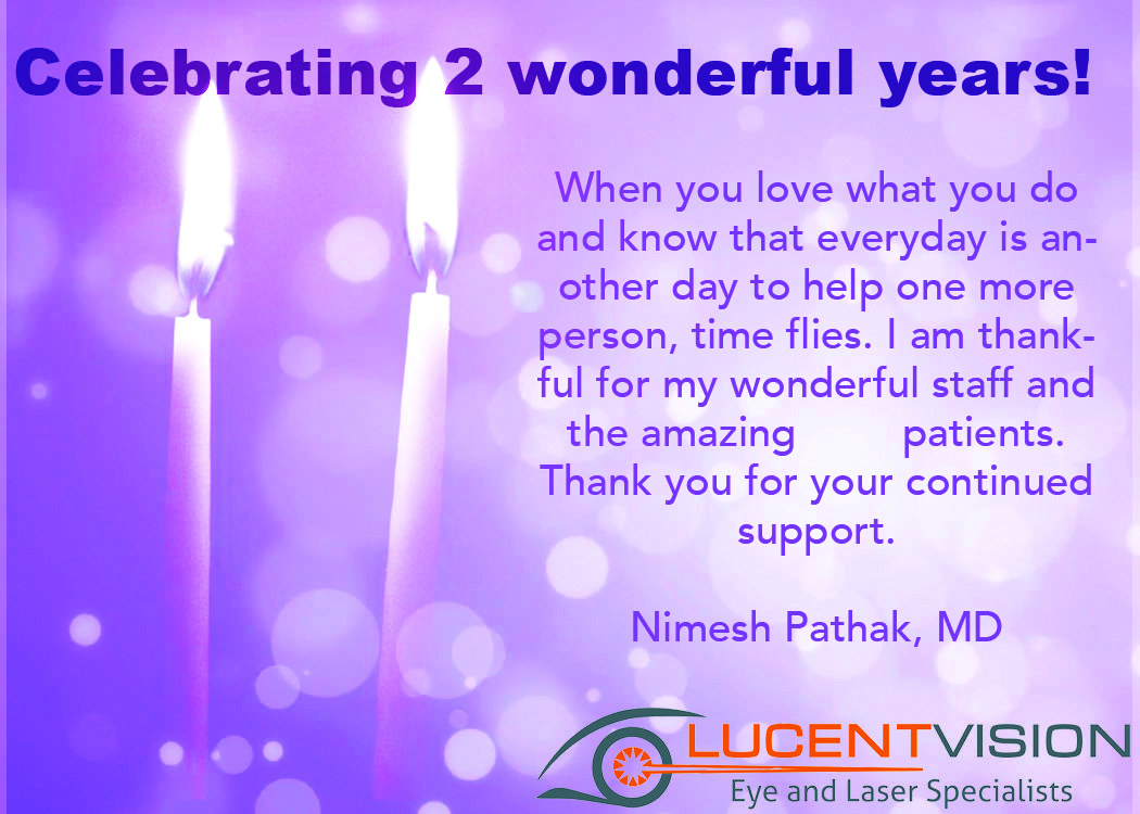 Thank You From Lucent Vision For TWO Amazing Years!